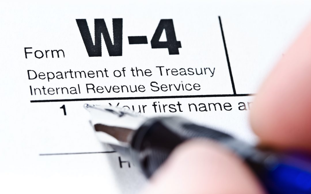 W-4 Changes For 2020