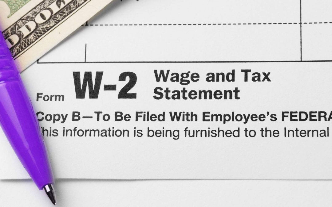 Important Information for Your W-2's